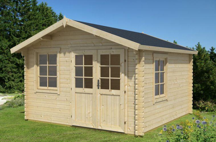 choisissez du bois pour votre abri de jardin. Black Bedroom Furniture Sets. Home Design Ideas