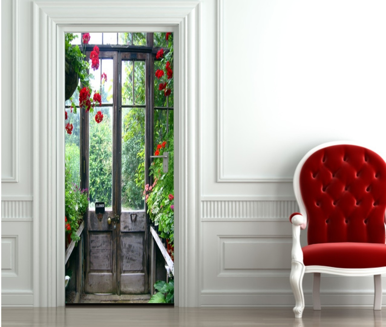 Stickers d coration pour vos portes for Decoration porte photo