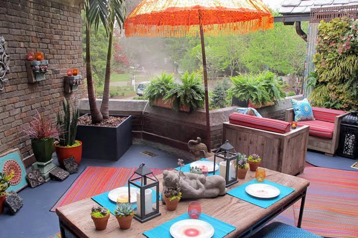 tapis-terrasse extérieur