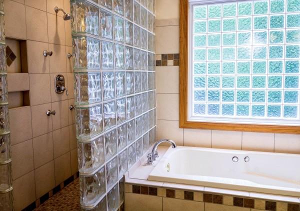 douche et baignoire