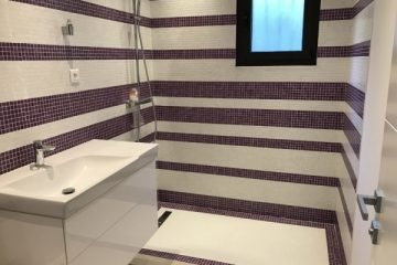Mosaique salle de bain