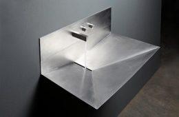 évier-inox-Lavandino-design-italien-moderne-minimaliste