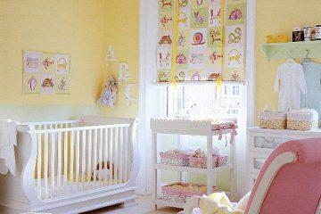 Décoration murale de la chambre du bébé