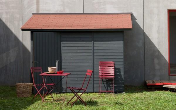 abri de jardin adoss conseils pour faire le bon choix. Black Bedroom Furniture Sets. Home Design Ideas