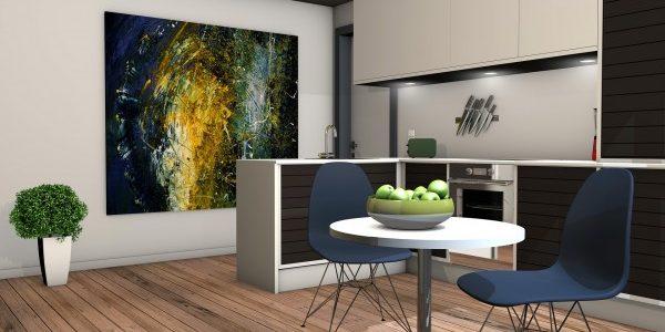 Osez des grands tableaux pour décorer votre intérieur