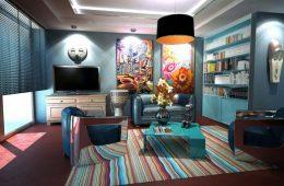 Un décor vintage pour votre salon