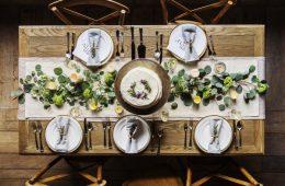 Décorer sa salle à manger avec du vert
