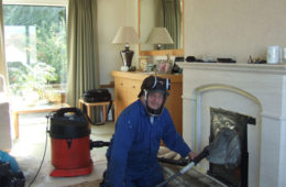 Ramonage cheminé