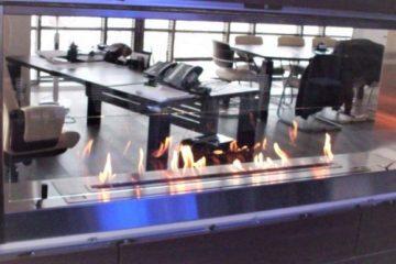 La cheminée bioéthanol les plaisirs d'un feu de cheminée sans ses désagréments