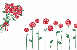 décor rose