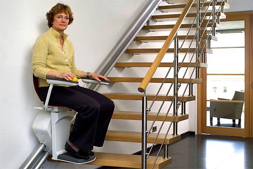 monte escalier handicape. Black Bedroom Furniture Sets. Home Design Ideas