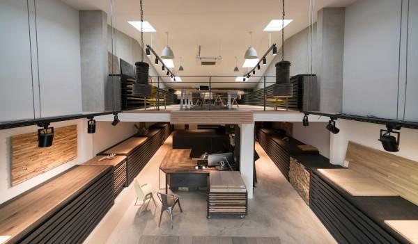 Showroom pour l'aménagement intérieure