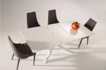 table-a-manger-blanche-extensible-clint