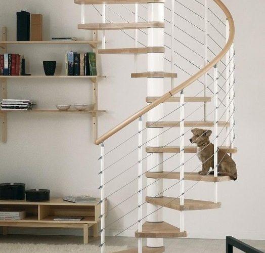 Les avantages d\'un escalier en colimaçon dans votre maison