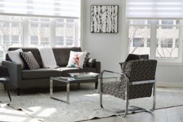 une touche moderne à votre salon