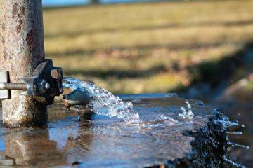 Source fuite d'eau