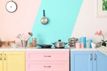 la peinture de la cuisine
