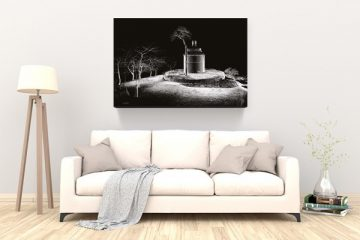 tableau contemporain canapé